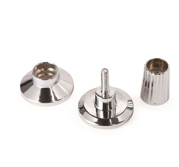 Picture of 16/19mm Chrome Adjustable Pillar Ends Fitting