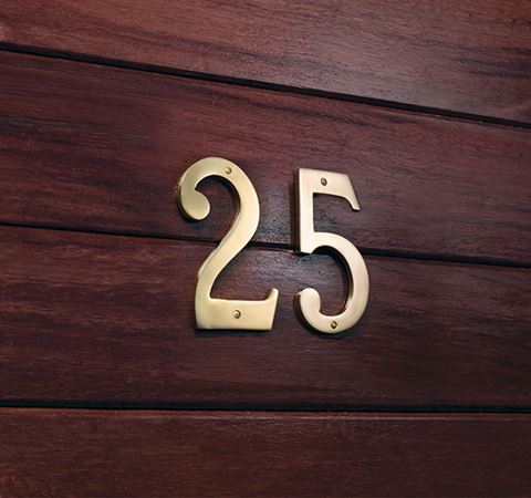 Picture of 75mm Windsor Numeral