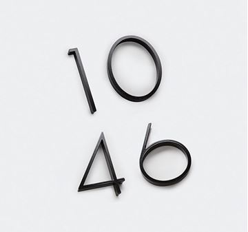 Picture of 120mm Slimline Numeral