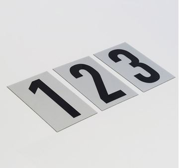 Picture of 85mm Breeze Numeral Silver