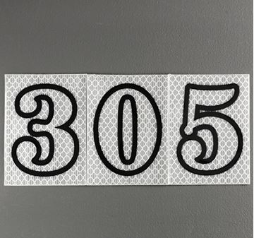Picture of 80mm Night Shine Numeral