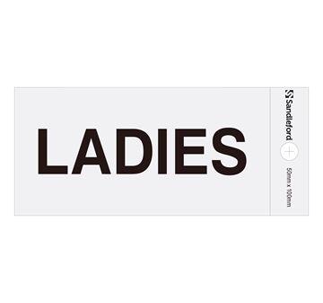 "Picture of 100 x 50 mm ""Ladies"""