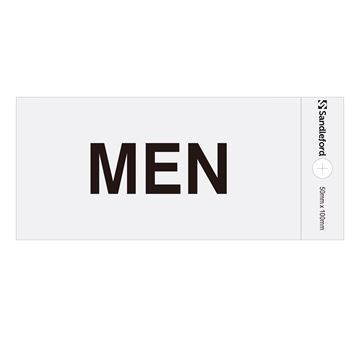 "Picture of 100 x 50 mm ""Men"""