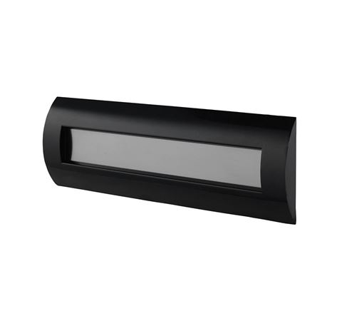 Picture of Black Letterplate 300mm