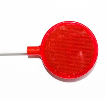 Picture of Red Round Lens 63mm 1168mm Spike
