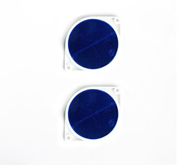 Picture of Reflector Blue 75mm Round