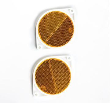 Picture of Reflector Amber 75mm Round
