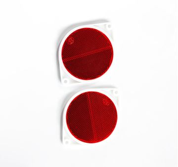 Picture of Reflector Red 75mm Round