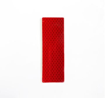Picture of Reflective Rectangles Red 38mm x 110mm