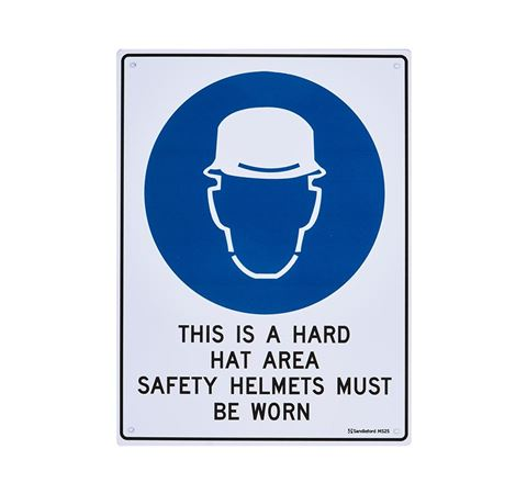 "Picture of Medium Sign ""This is a Hard Hat Area"""
