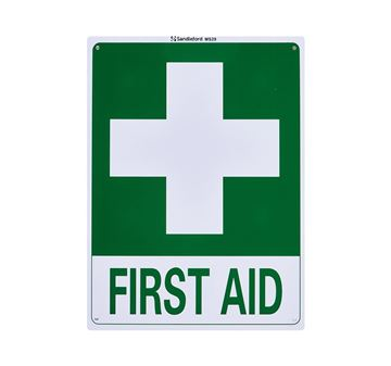 "Picture of Medium Sign ""First Aid"""