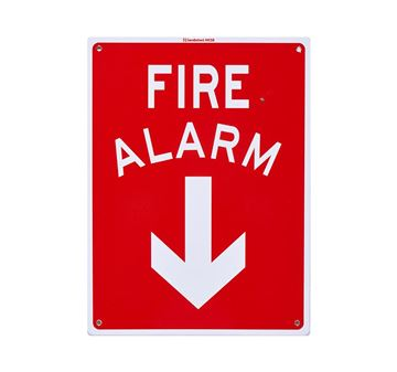 "Picture of Medium Sign ""Fire Alarm"""