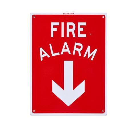 """Picture of Medium Sign """"Fire Alarm"""""""