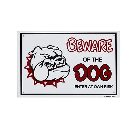 Picture of BEWARE OF THE DOG