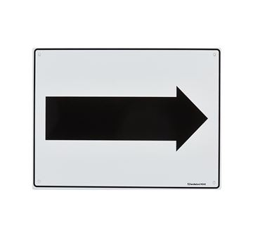 "Picture of Medium Sign ""Arrow"""