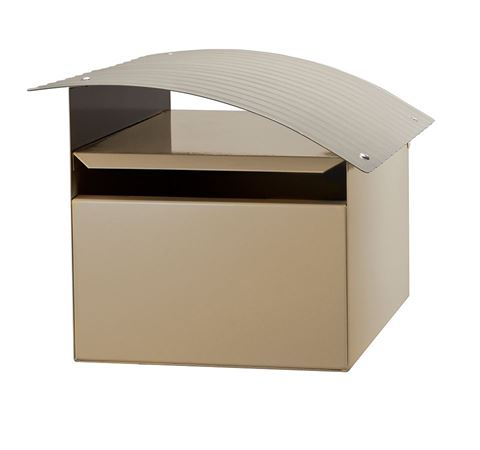 Picture of RIPPLE LETTERBOX CREAM/SILVER