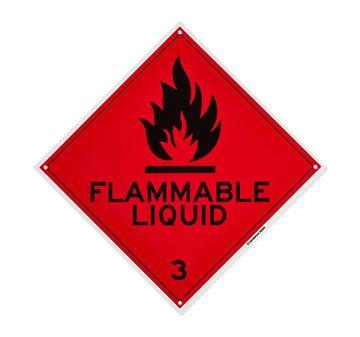 "Picture of Medium Sign ""Flammable Liquid"" 270x270mm"