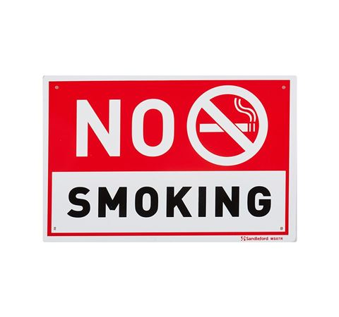 "Picture of Medium Sign ""No Smoking"""