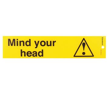 "Picture of 245 x 58 mm ""Mind your head"""