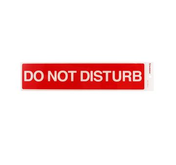 "Picture of 245 x 58 mm ""Do not Disturb"""