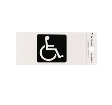 "Picture of 100 x 50 mm ""Disabled Symbol"""