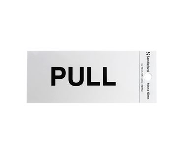"Picture of 100 x 50 mm ""Pull"""