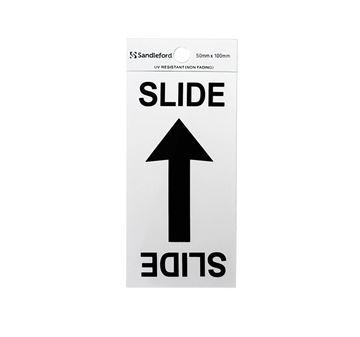 "Picture of 100 x 50 mm ""Slide Arrow Symbol"""