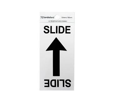 "Picture of 100 x 50 mm ""Slide Arrow Symbol"""