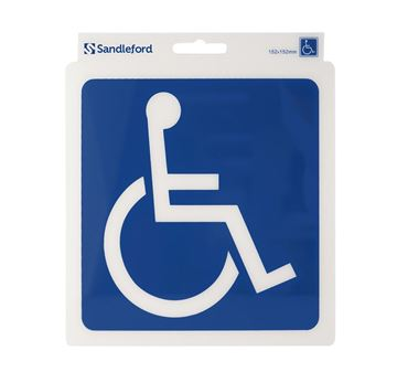 "Picture of 152 x 152 mm ""Disabled Symbol"""