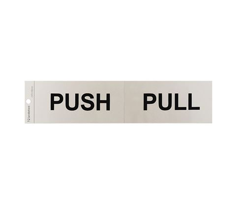 "Picture of 245 x 58 mm ""Push/Pull"""