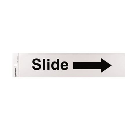 "Picture of 245 x 58 mm ""Slide Arrow Right"""