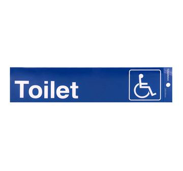 "Picture of 245 x 58 mm ""Toilet Disabled Symbol"""