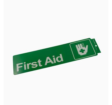 "Picture of 330 x 95 mm ""First Aid"""