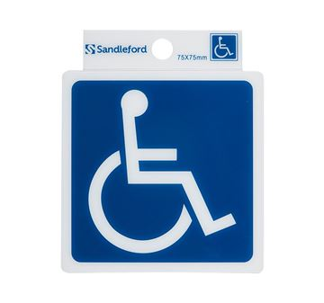 "Picture of 75 x 75 mm ""Disabled Symbol"""