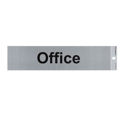 "Picture of SIGN SELF ADHESIVE 245 X 58 ""OFFICE"""
