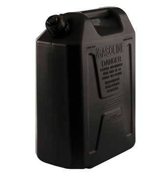 Picture of Plastic Fuel Can Black - 20L