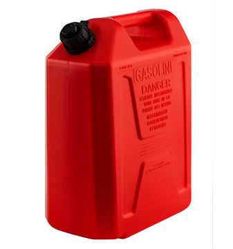 Picture of Plastic Fuel Can Red - 20L
