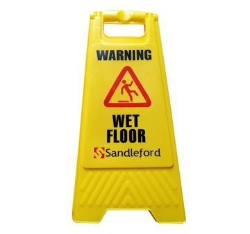 Picture of Wet floor sign Yellow