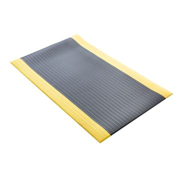Picture of Foam Comfort Mat Black with Yellow