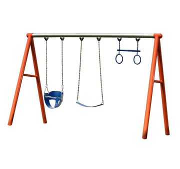 Picture of  Commercial 3 Swing Playset	CSO
