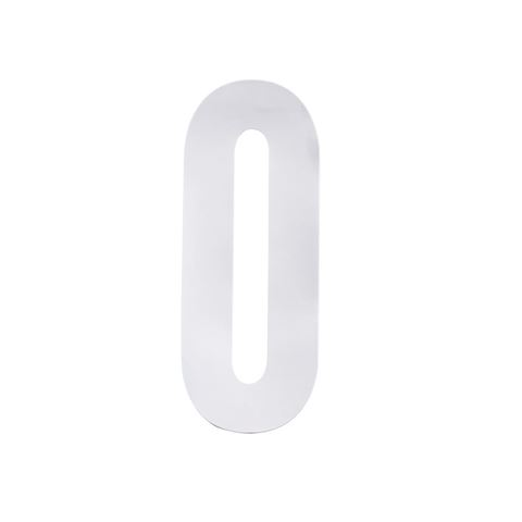 Picture of White Wheelie Bin Number
