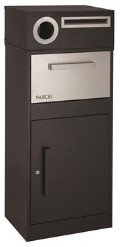 Picture of Parcel Box Free Standing Black